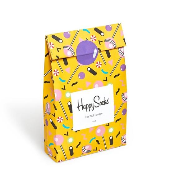Giftbox (3-pak) Happy Socks CANDY SOCKS XCAN08-2000
