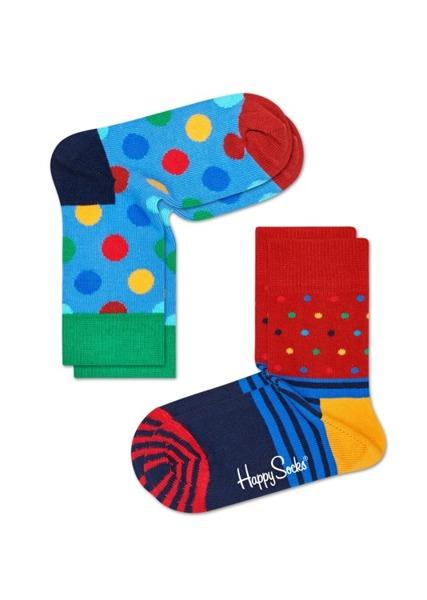 Skarpetki dziecięce (2-pak) Happy Socks KBDO02-6004